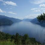Озеро Телецкое, смотровая площадка, с. Яйлю