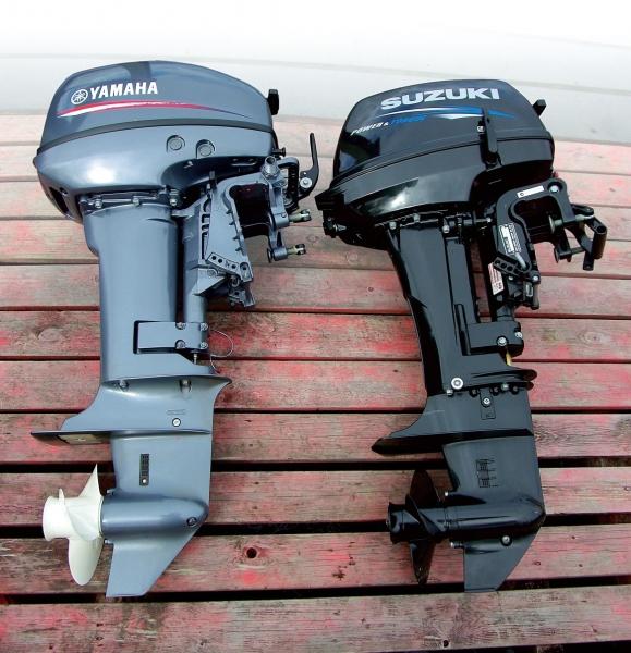 разница между лодочными моторами