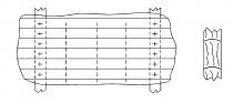 Классическая однослойная реечная обшивка, выполненная по требованиям Правил RL.