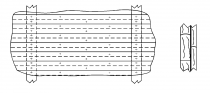 Классическая двухслойная реечная обшивка, выполненная по требованиям Правил RL.