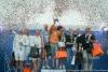Церемония награждения чемпионата Европы в классе яхт Дракон, Яхт-клуб Санкт-Петербурга, 22 июля. Фото: Елена Разина