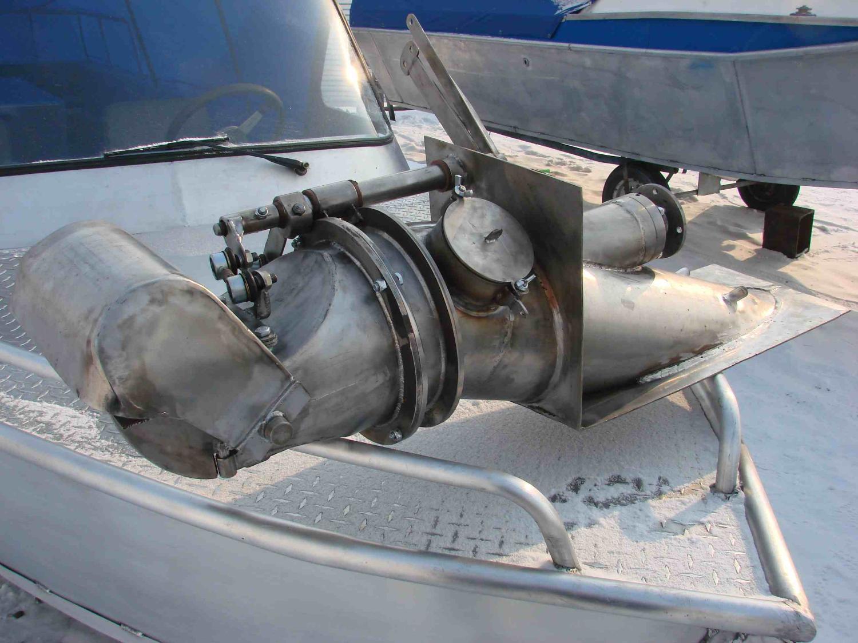Самодельный водомет лодки своими руками