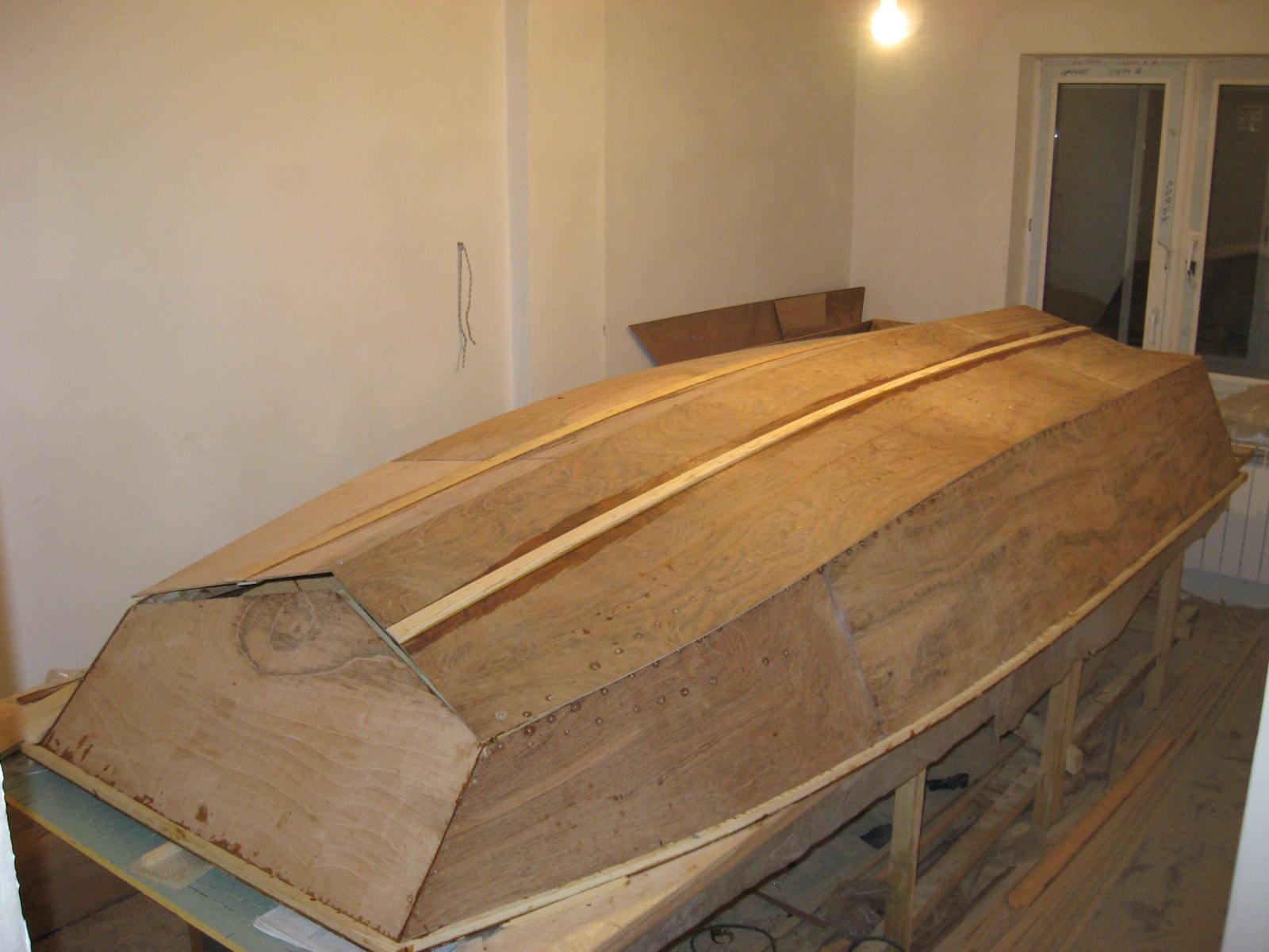 Проект лодки окунь