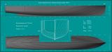 1 Теоретический чертёж катера МО-V.png
