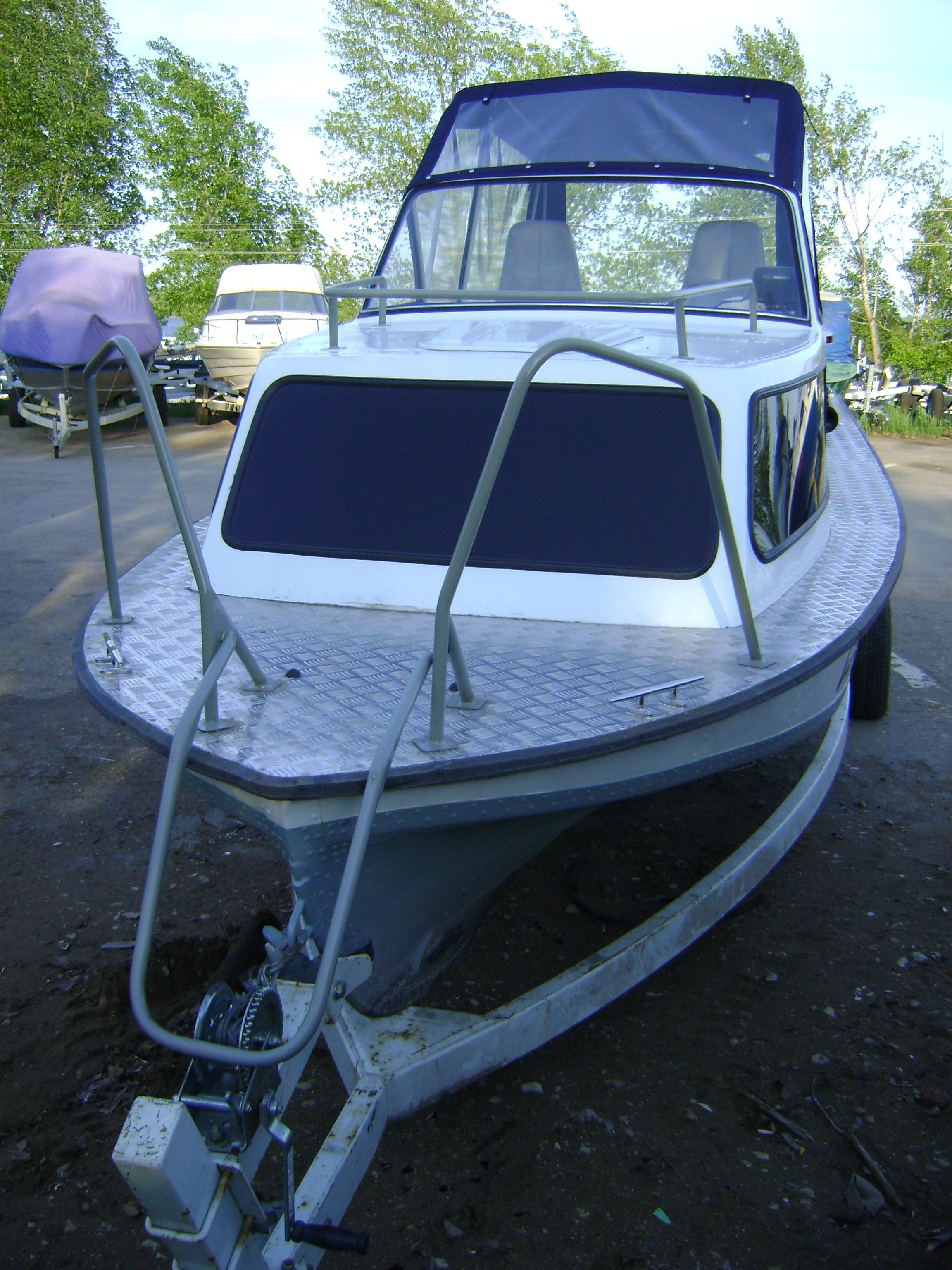 Как сделать рубку на катер - Моторные лодки и катера - Кают