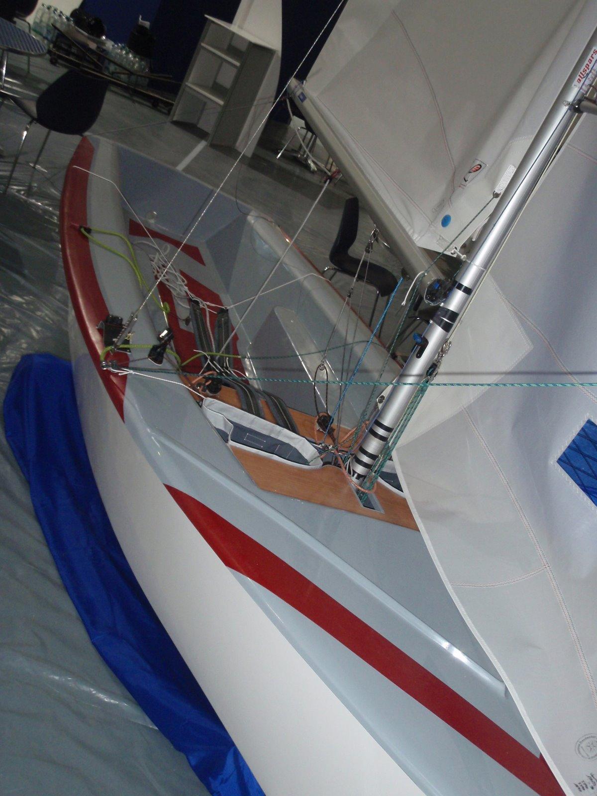 Крейсерский швертбот своими руками